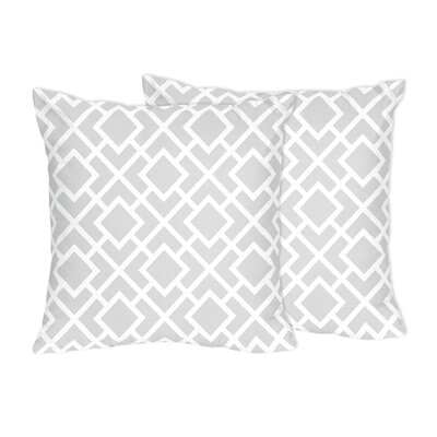 Diamond Cotton Throw Pillow