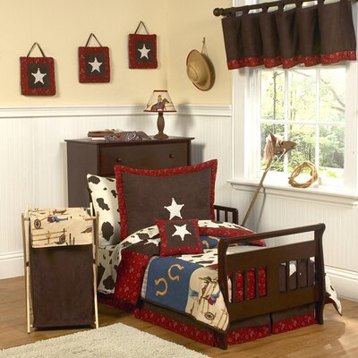 Sweet Jojo Designs Wild West Cowboy Toddler Bedding Collection (3 Pieces) at Sears.com