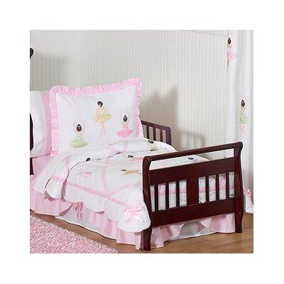 Sweet Jojo Designs Ballerina 5 Piece Toddler Bedding Set Ballerina-Tod