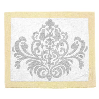 Avery Floor Gray/White Area Rug Color: Yellow