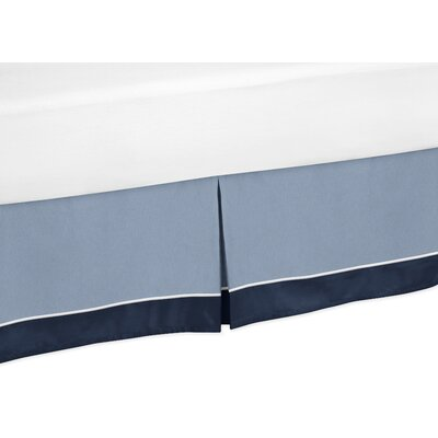 Ocean 200 Thread Count Bed Skirt Size: Toddler