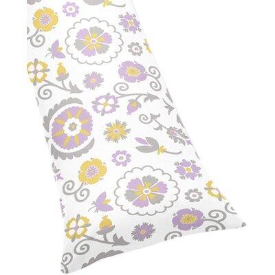 Suzanna Body Pillowcase P-Body-Case-Suzanna-WH-LAV