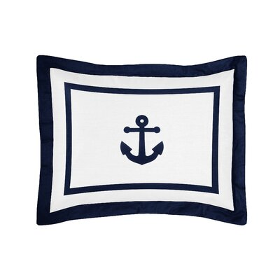 Anchors Away Standard Pillow Sham