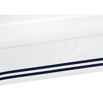 Anchors Away Bed Skirt Size: Queen