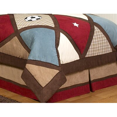 All Star Sports Queen Bed Skirt