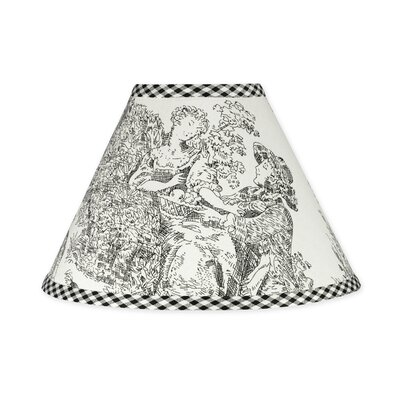 French Toile 10 Cotton Empire Lamp Shade