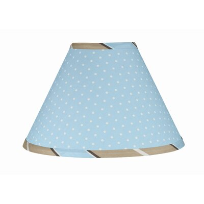 Mod Dots 10 Latex Free Empire Lamp Shade Color: Blue