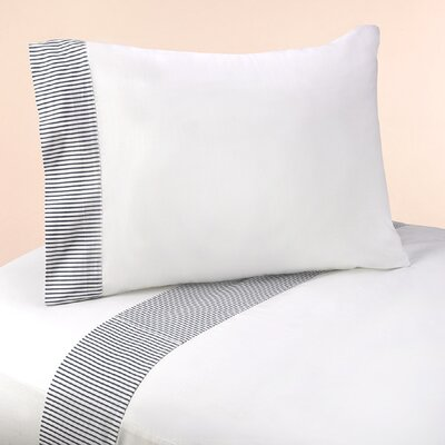 Come Sail Away 4 Piece 100% Cotton Sheet Set Size: Twin