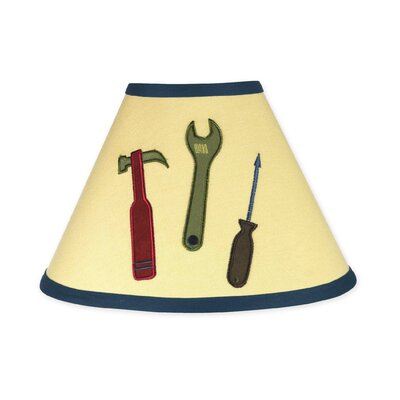 Construction Zone 10 Cotton Empire Lamp Shade