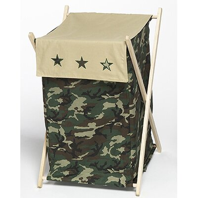 Green Camo Laundry Hamper