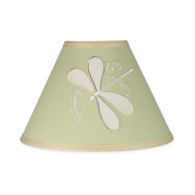 Dragonfly Dreams 10 Latex Free Empire Lamp Shade Color: Green