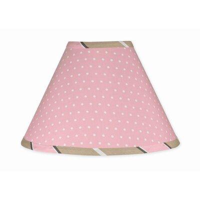 Mod Dots 10 Latex Free Empire Lamp Shade Color: Pink