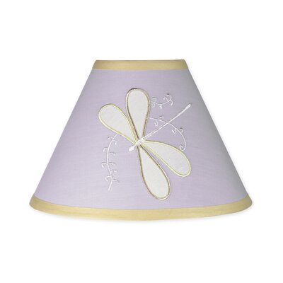 Dragonfly Dreams 10 Latex Free Empire Lamp Shade Color: Purple