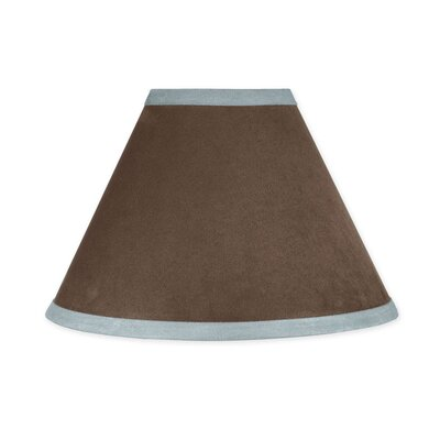 Soho 10 Faux Leather Empire Lamp Shade Color: Blue and Brown