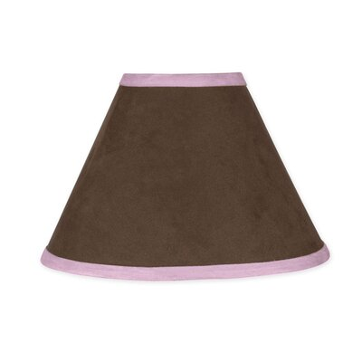 Soho 10 Faux Leather Empire Lamp Shade Color: Pink and Brown