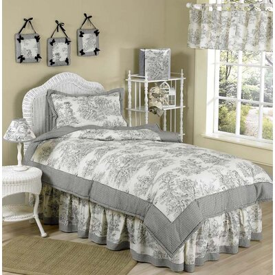 Black French Toile Kid Bedding Collection
