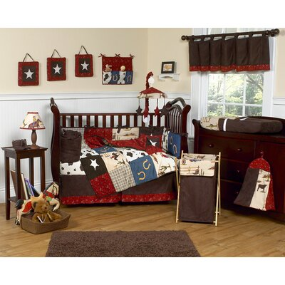 Wild West Cowboy Nursery Bedding Set