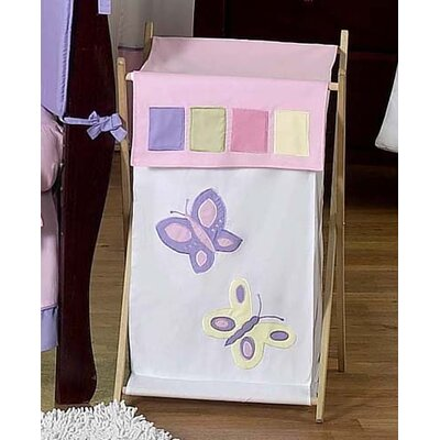 Sweet Jojo Designs Butterfly Pink and Purple Laundry Hamper at Sears.com
