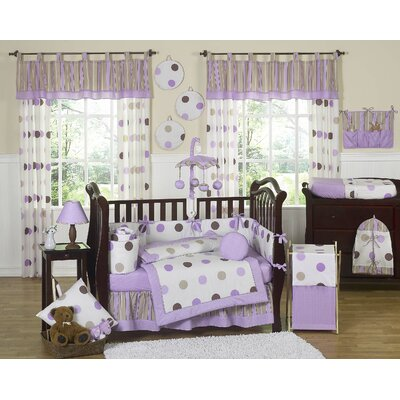 purple girl nursery