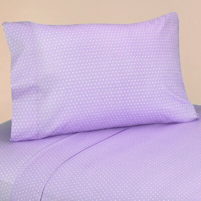 Mod Dots 4 Piece 100% Cotton Sheet Set Size: Twin
