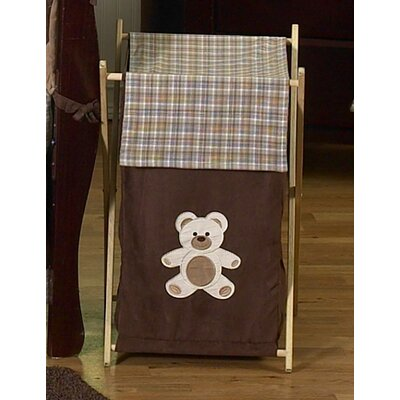 Chocolate Wooden Laundry Hamper | Wayfair