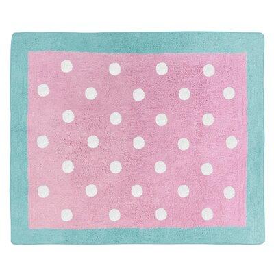 Skylar Hand-Tufted Pink Area Rug