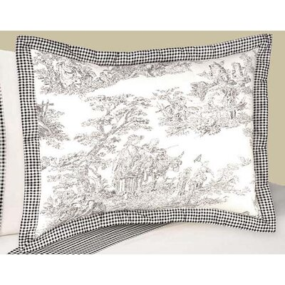 French Toile Sham
