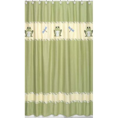Buy Low Price Jojo Designs Leap Frog Shower Curtain Shower Curtain Mall