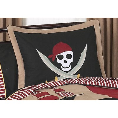 Pirate Treasure Cove Sham