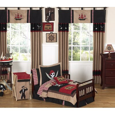 Sweet Jojo Designs-Treasure Cove Pirate Toddler Bedding Set