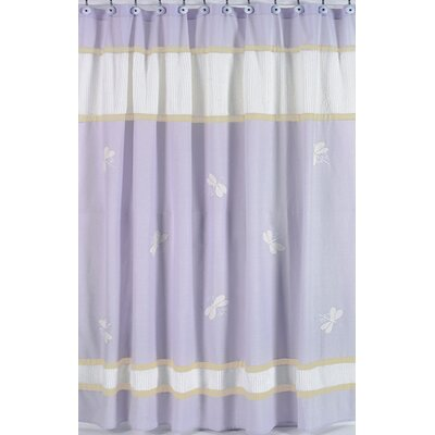 Dragonfly Dreams Cotton Shower Curtain