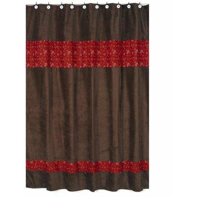 Buy Low Price Jojo Designs Wild West Cowboy Bandana Print Shower Curtain Shower Curtain Mall