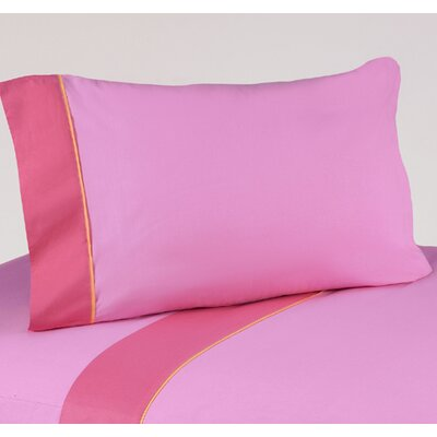Butterfly 3 Piece 100% Cotton Twin Sheet Set Size: Twin