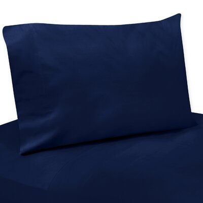 Solid Navy Blue Twin Sheet Set Size: Twin