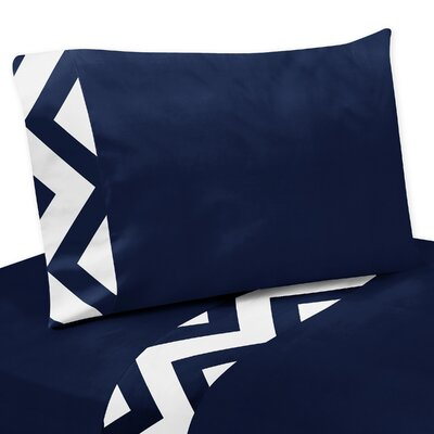 Chevron Thread Count Sheet Set Size: Twin