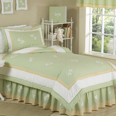 Dragonfly Dreams 4 Piece Twin Comforter Set