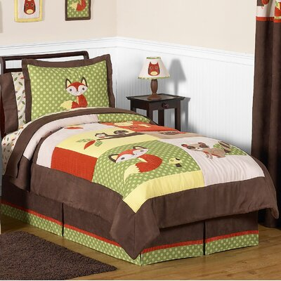 Forest Friends 4 Piece Twin Comforter Set