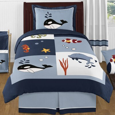 Ocean 4 Piece Twin Comforter Set