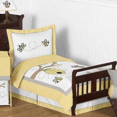 Honey Bee 5 Piece Comforter Set