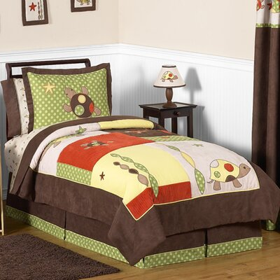 Turtle 4 Piece Twin Comforter Set