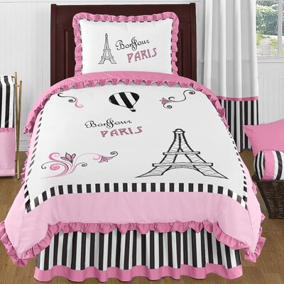 Paris 4 Piece Twin Comforter Set