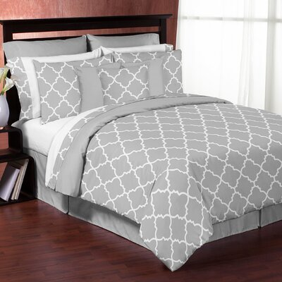 Trellis 3 Piece Comforter Set Size: King