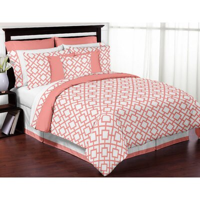 Mod Diamond Comforter Set