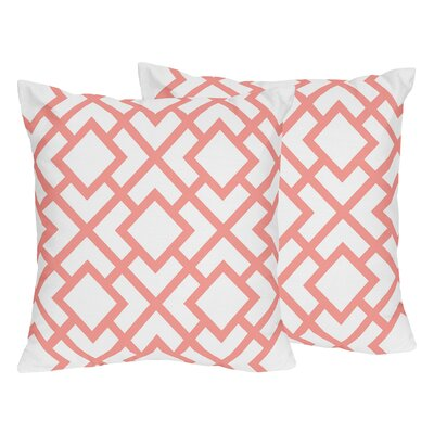 Mod Diamond Throw Pillow