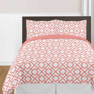 Mod Diamond 4 Piece Comforter Set