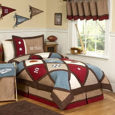 All Star Sports 3 Piece Comforter Set