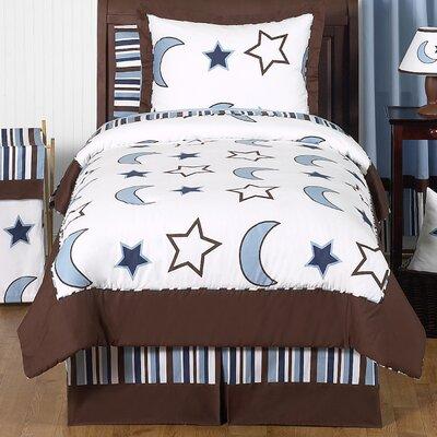 Starry Night 4 Piece Twin Comforter Set