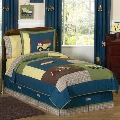 Construction Zone 3 Piece Comforter Set