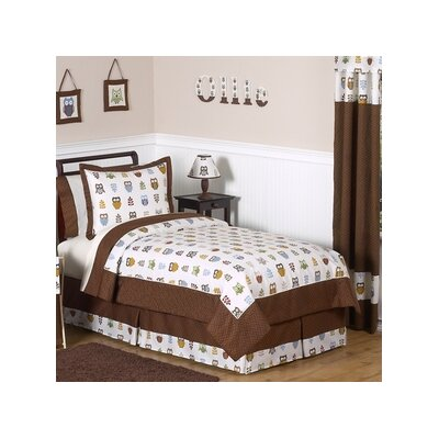 Night Owl 3 Piece Comforter Set