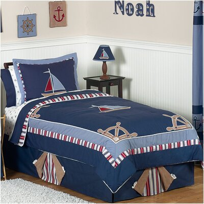 Nautical Nights 3 Piece Full/Queen Comforter Set
